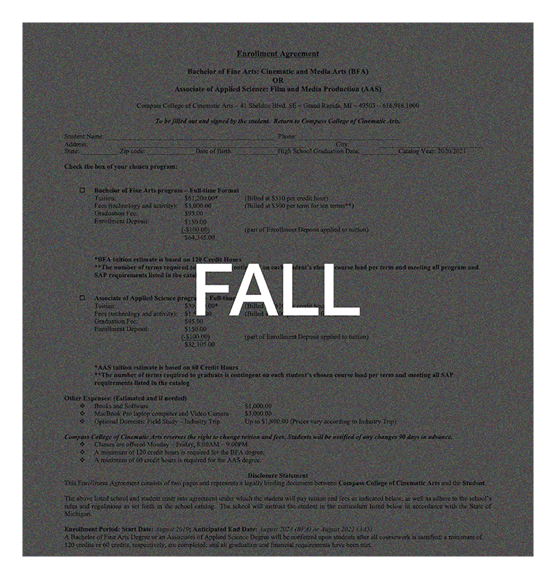Enrollment Agreement Image