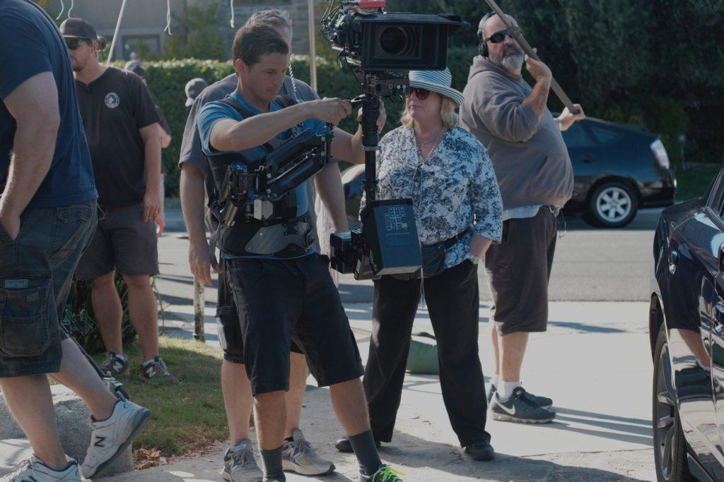 BRooney On Set