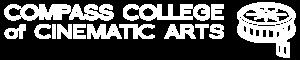 All White Compass Logo